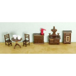 "1/4"" 9 Piece Kitchen Set"