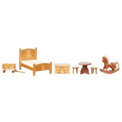 BEAR BEDROOM SET, 6PC