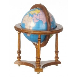 Walnut Globe with Stand