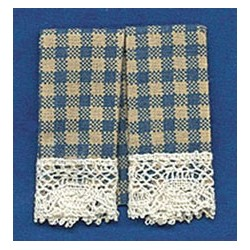 DISH TOWELS: COUNTRY BLUE (2)