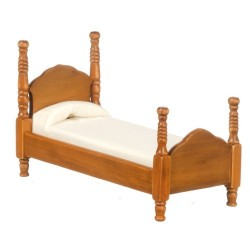 WALNUT TWIN BED