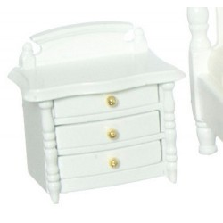 NIGHT STAND, WHITE