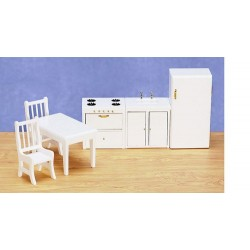 KITCHEN SET/6/WHITE/CS