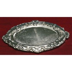 Oval Tray - Silver 2""
