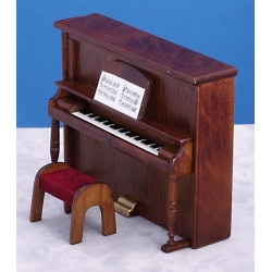 UPRIGHT PIANO/BENCH/WA/CB