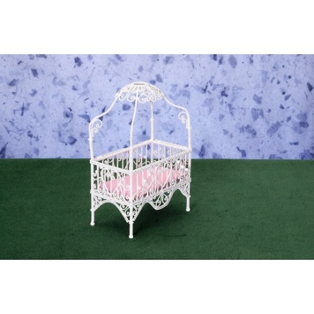BABY CANOPY BED/WHITE/CB