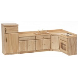 True Oak-5 Pc Kitchen