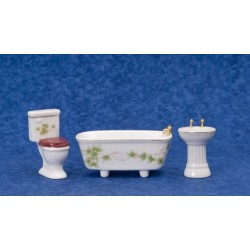 3Pc Ivy Bath Set