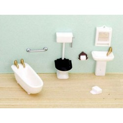 "1/4"" 8 Piece Bathroom Set"