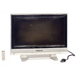 Widescreen TV with Remote