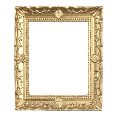 Large Gold Frame | Dollhouse Pictures & Frames | Superior Dollhouse ...