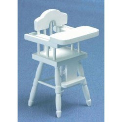 High Chair, White