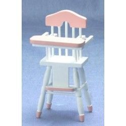 High Chair with Pink