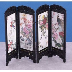 CHINESE SCREEN, BIRDS