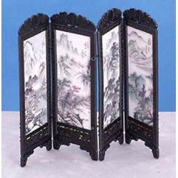 CHINESE SCREEN, MOUNTAINS