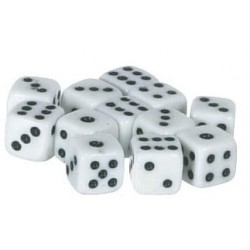 DICE 5MM 6PAIR