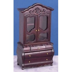 FANCY WARDROBE, MAHOGANY