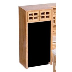 CABINET FOR REFRIGERATOR, OAK