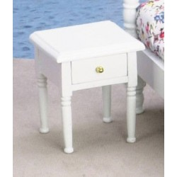 NIGHTSTAND, WHITE