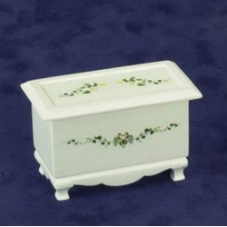 LINEN CHEST,CREAM, PAINTED