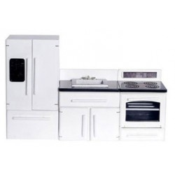 WHITE APPLIANCE SET, 3