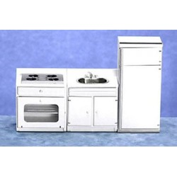 APPLIANCE SET 3/PC, WHITE