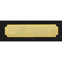 RECTANGULAR PUSH PLATE 1PC