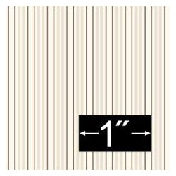 6 pack Wallpaper: Gathering Stripe, White