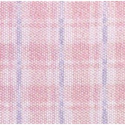 SILK FABRIC: COTTAGE PLAID