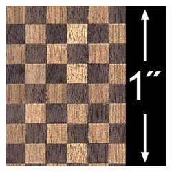 6 pack 1/4 Scale Wallpaper: Parquet Plank Flooring