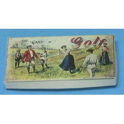 GAME OF GOLF, ANTIQUE REPRODUCTION