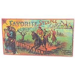 FAVORITE STEEPLE CHASE BOX W/LID