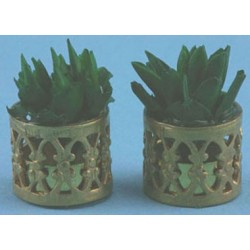 SMALL FILIGREE PLANTERS