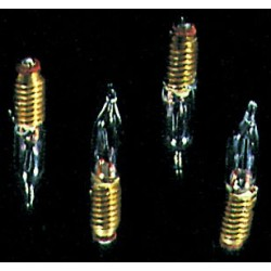 &MH611: 12V C.F. SCREW BASE BULBS, 4/PK