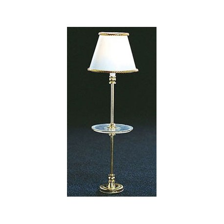 Mh801 Table Stand Floor Lamp Dollhouse Miniature Lamps Superior Dol