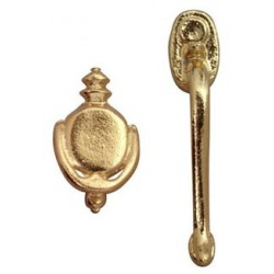 DOOR HANDLE & KNOCKER, 1/PK
