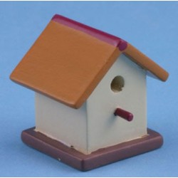 BIRD HOUSE, PAINTED  (HH19)