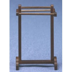 TOWEL RACK, WALNUT   (HH30)
