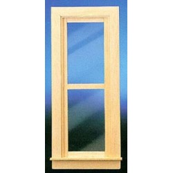 NARROW NONWORKING WINDOW W/TRIM