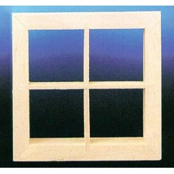 &HW5004: 4-LIGHT WINDOW, 2/PK