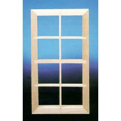 STD 8-LITE WINDOW W/OUT PANE