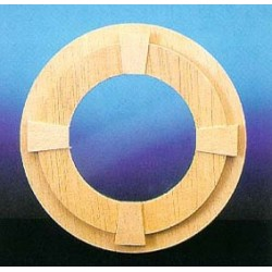 &HW5052: CIRCLE WINDOW W/TRIM