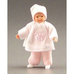 BABY IN PINK W/PINK BEAR