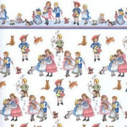 6 pack Wallpaper, Children On White