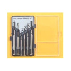 JEWELERS SCREWDRIVER SET 6PCS