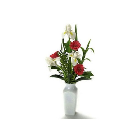 ARRANGEMENT IN WHIT