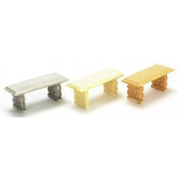 "1/2"" SCALE BENCH, INORY, 2 PC"
