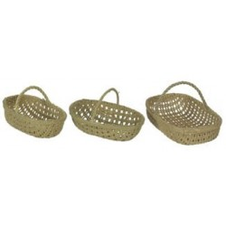 RECTANGLE BASKET/3PC