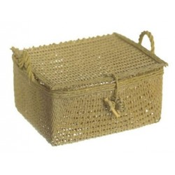 PICNIC BASKET, SMALL,  3PC