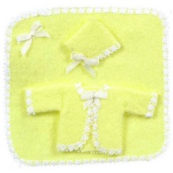 BABYGIFT SET OF 3/YELLOW